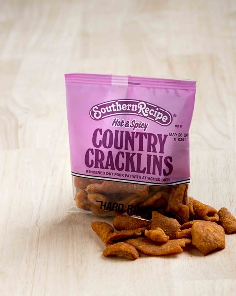 Picture of Southern Recipe Hot & Spicy Country Cracklins