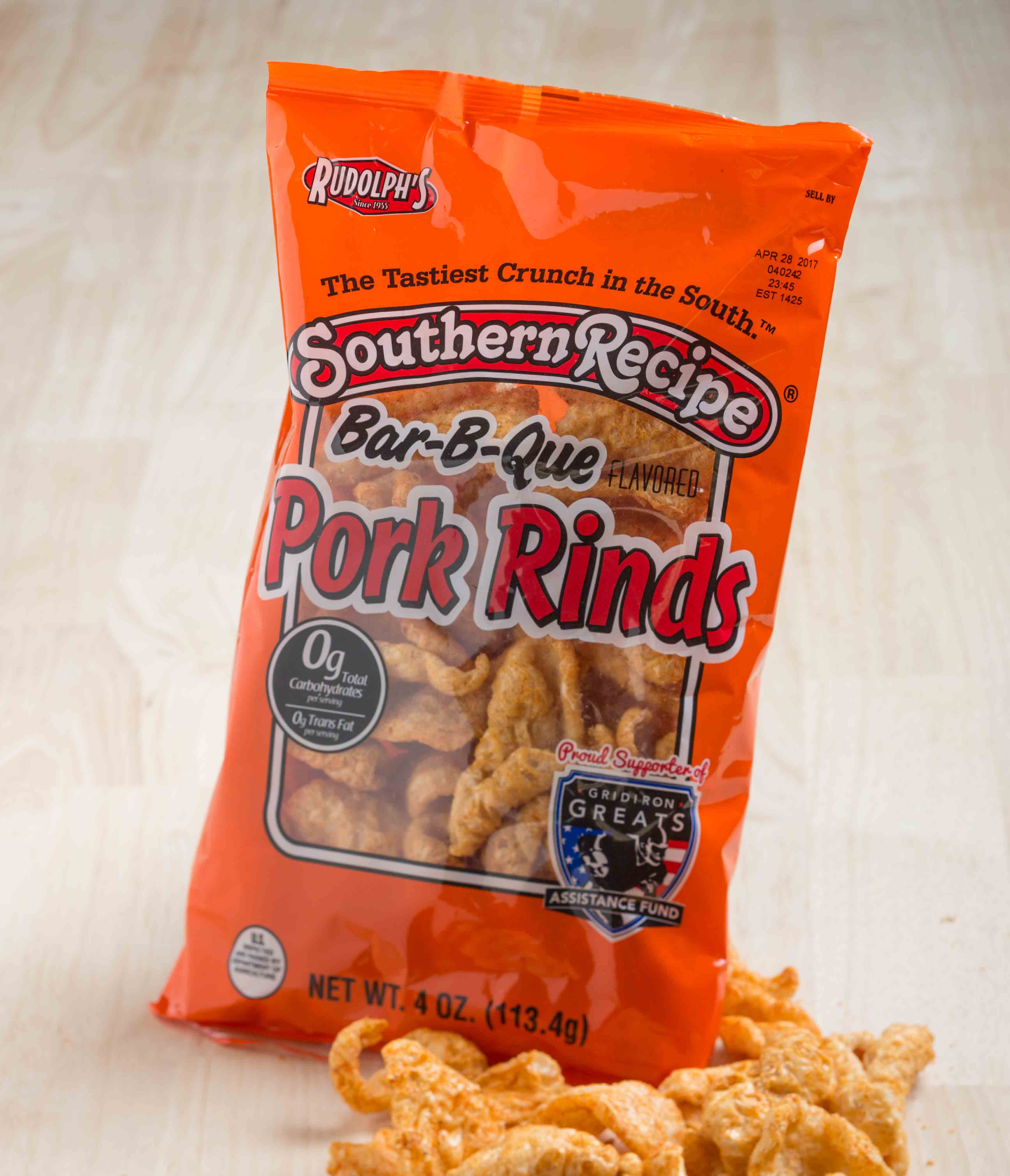 Picture Of Southern Recipe Bbq Pork Rinds