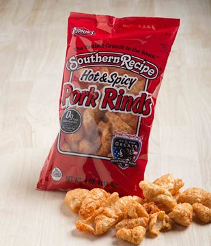 Picture of Southern Recipe Hot & Spicy Pork Rinds