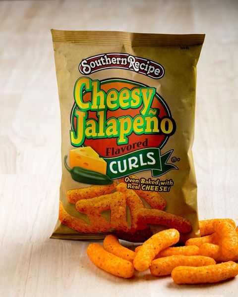 Picture of Southern Recipe Cheesy Jalapeno Curls